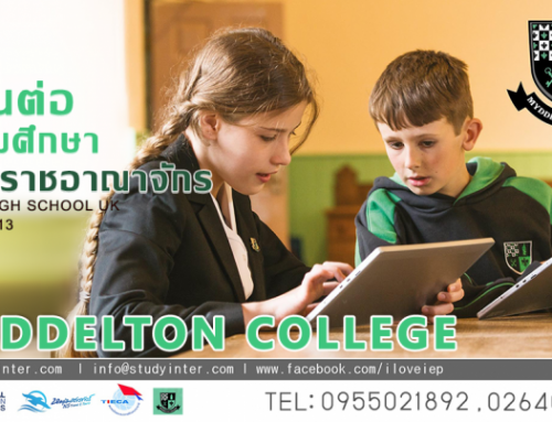Study at Myddelton College at North Wales
