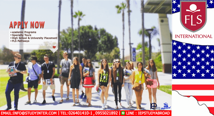 เรียนซัมเมอร์ต่างประเทศ English course at FLS International English Language Schools USA