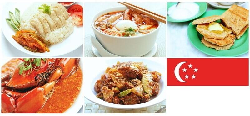 Food menus in Singapore