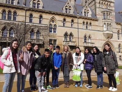 CES English summer camp 2016 in Oxford UK