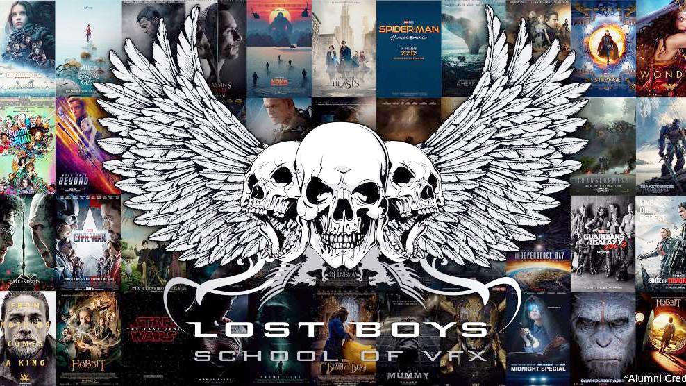 เรียนซัมเมอร์ต่างประเทศ Lostboys Studios The School of Visual Effects Canada